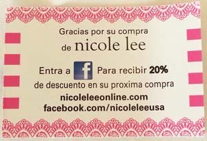 Nicole Lee Visit Us On Facebook in Spanish
